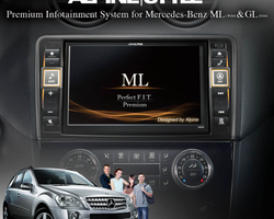 Autoradio GPS Alpine X800D-ML pour Mercedes Benz ML